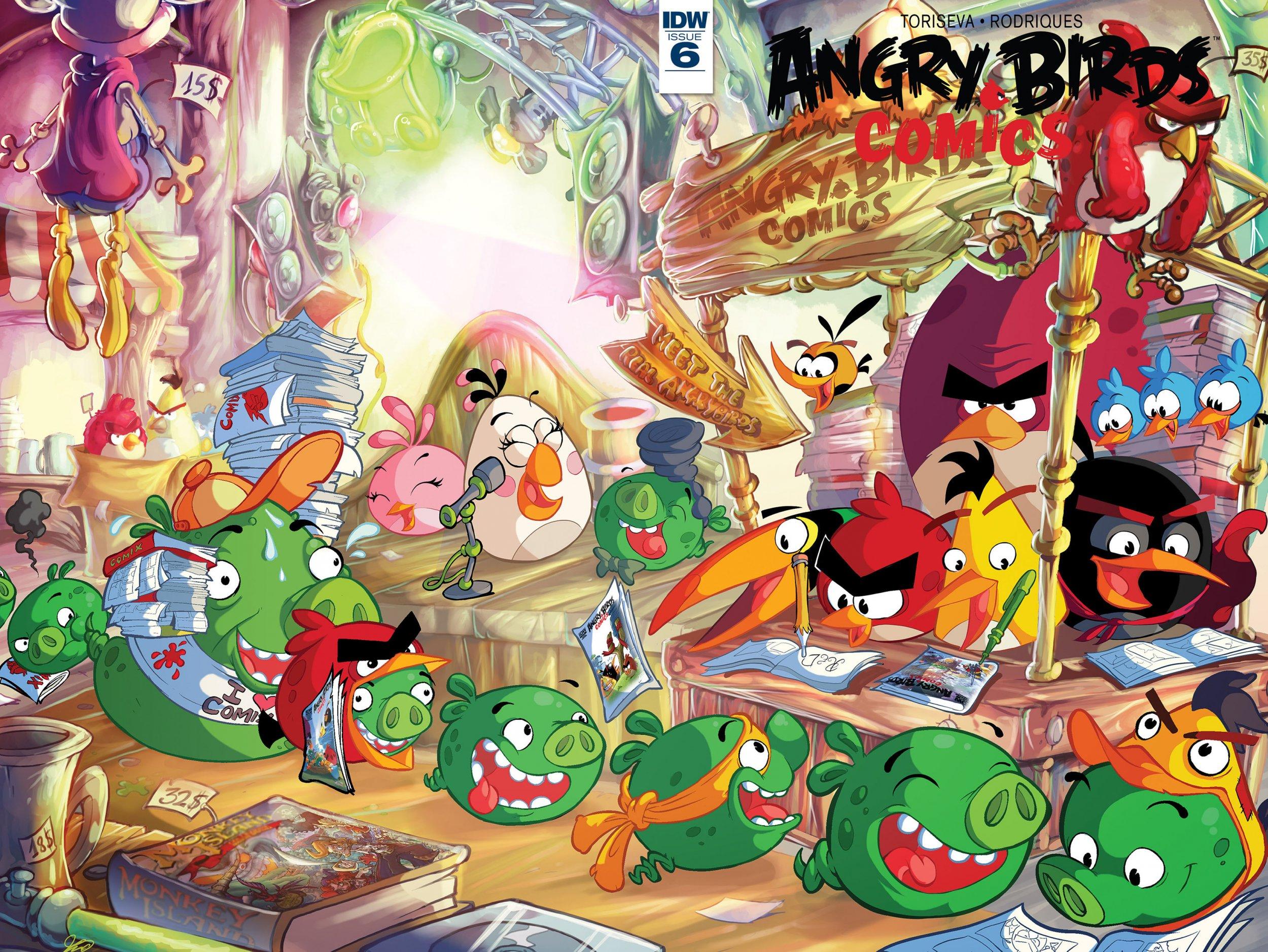 Angry Birds Comics Vol.2 006 (June 2016)