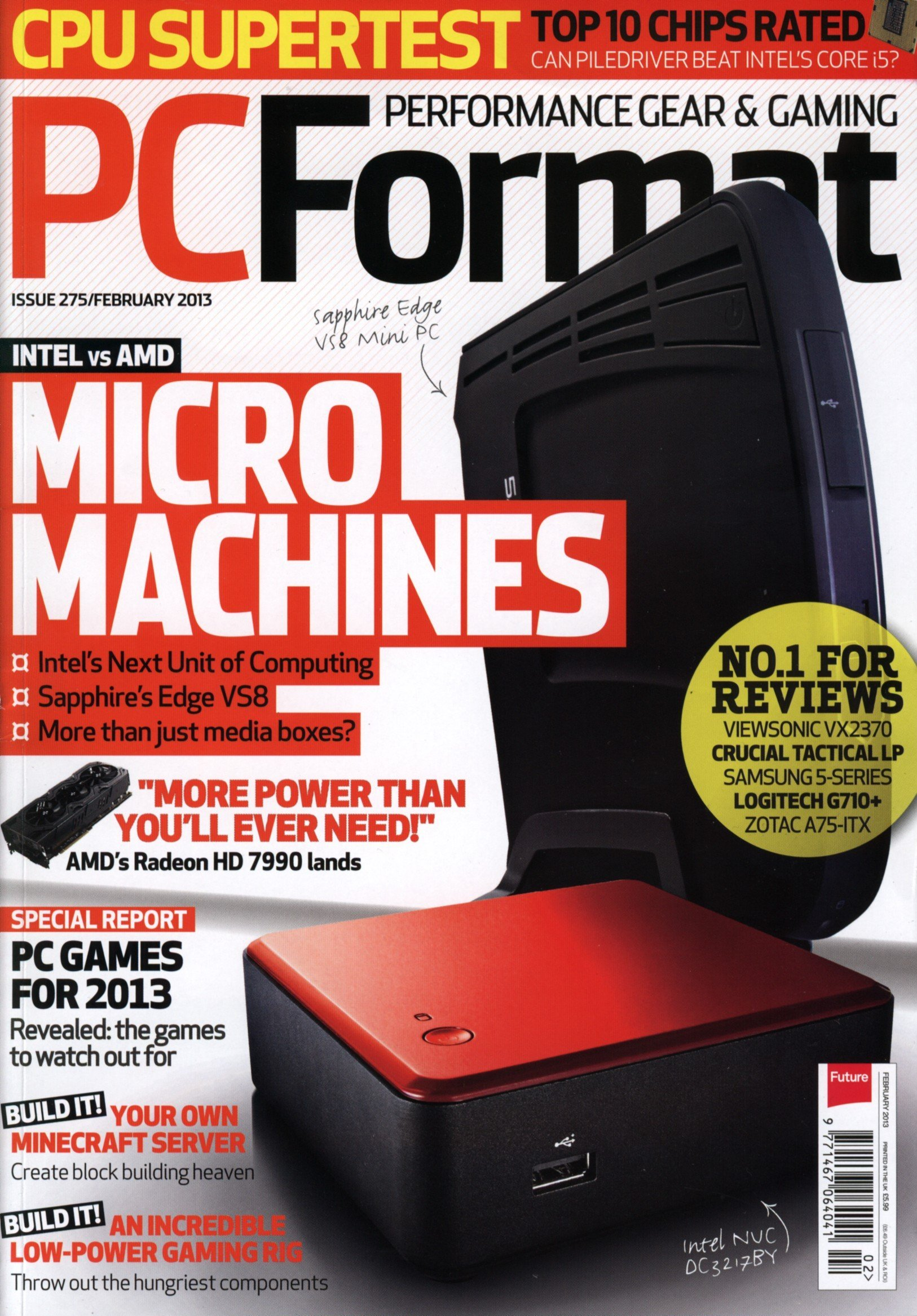 PC Format Issue 275 (February 2013)
