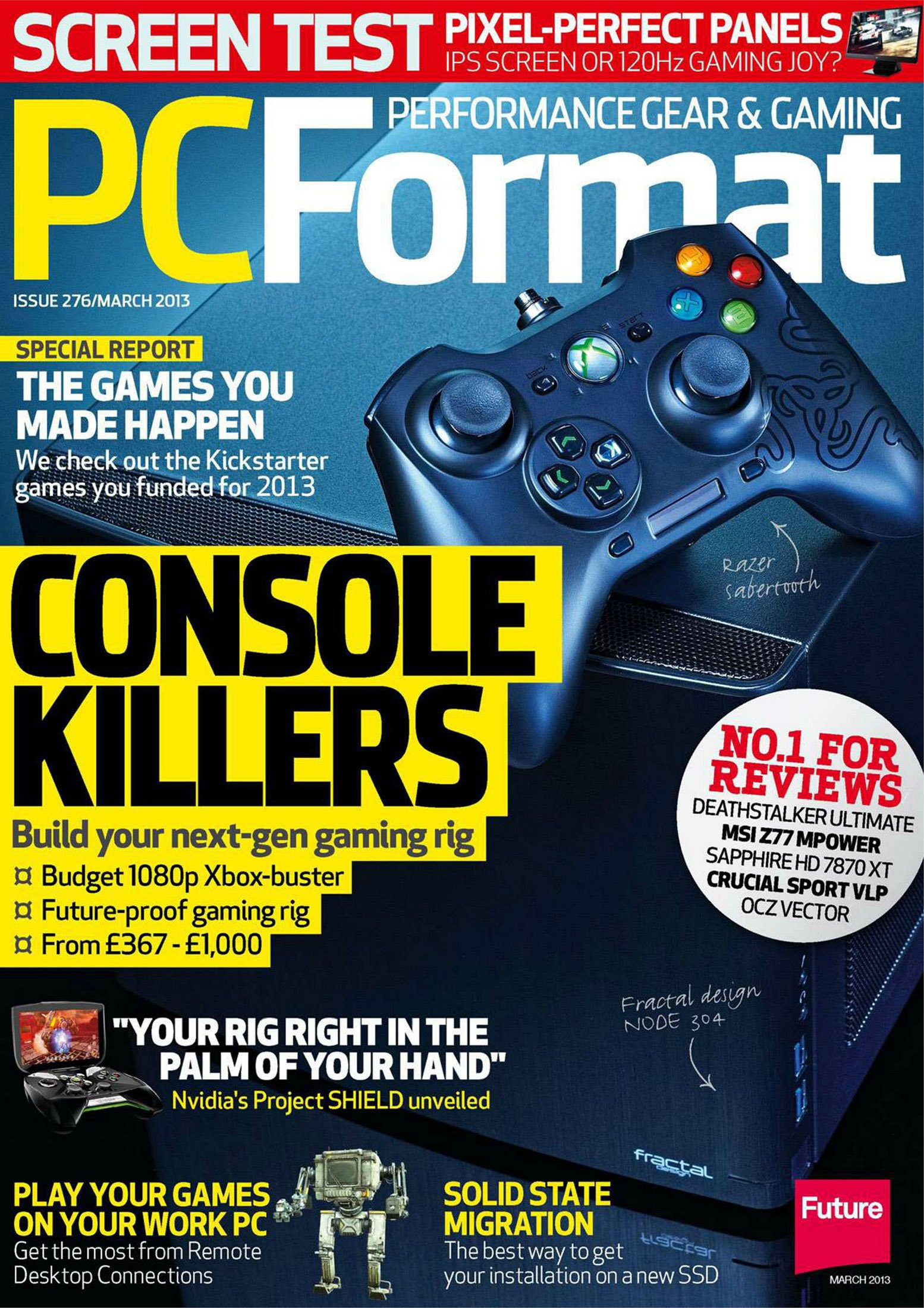 PC Format Issue 276 (March 2013)