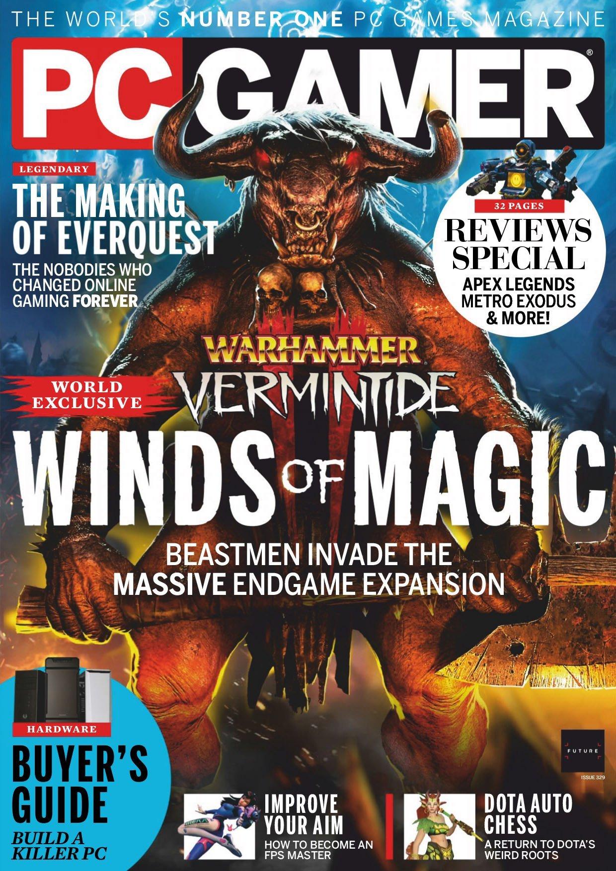 PC Gamer UK 329 (April 2019)
