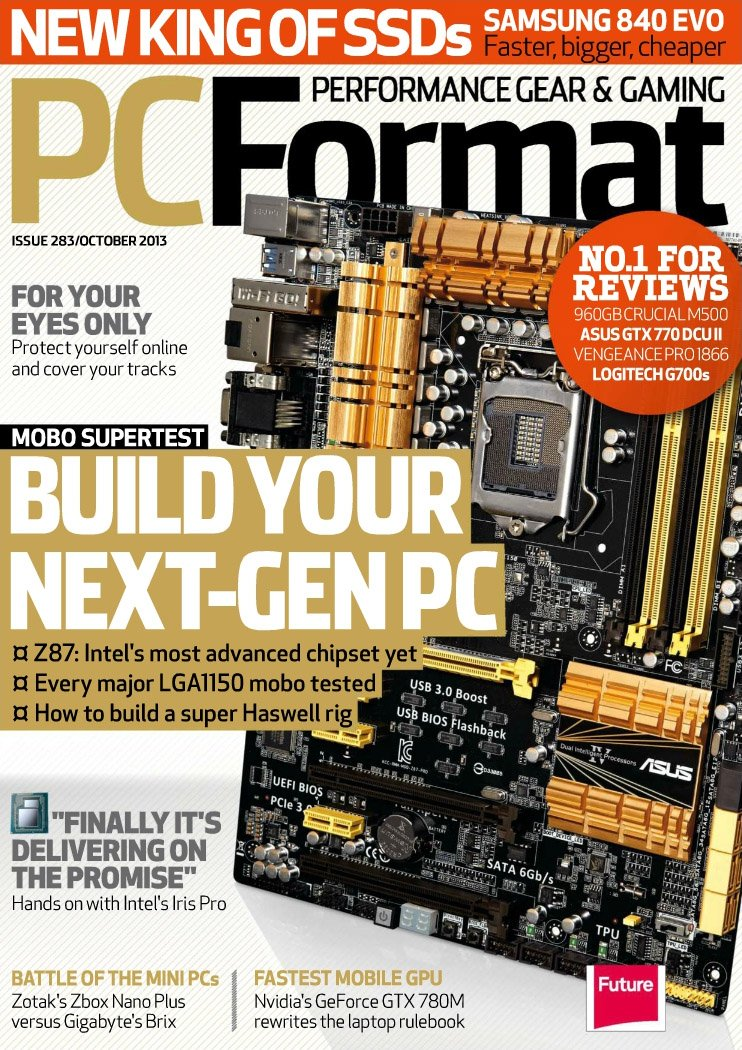 PC Format Issue 283 (October 2013)