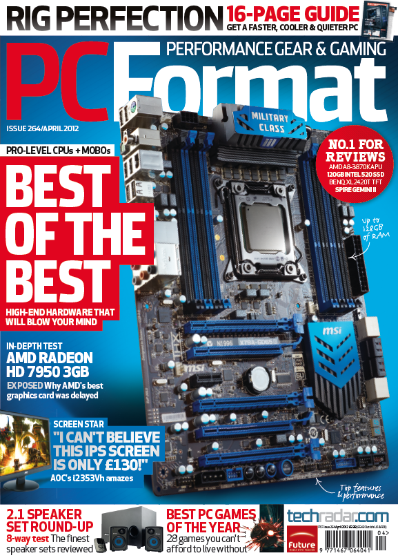 PC Format Issue 264 (April 2012)