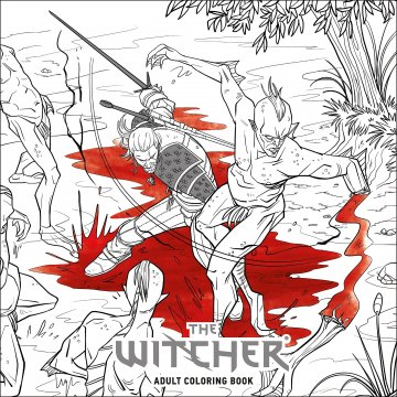 Witcher, The - Adult Coloring Book