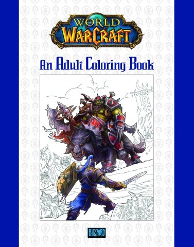 World of Warcraft - An Adult Coloring Book
