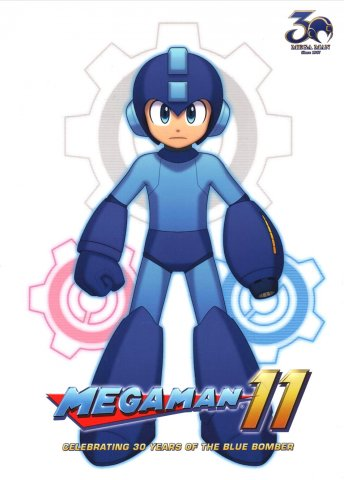 Mega Man 11 - Celebrating 30 Years of the Blue Bomber
