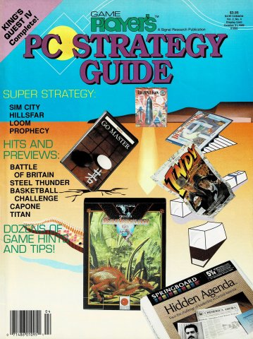 Game Player's PC Strategy Guide Vol.2 No.4 (September/October 1989)