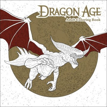 Dragon Age - Adult Coloring Book
