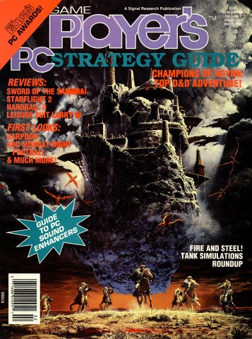 Game Player's PC Strategy Guide Vol.3 No.2 (March/April 1990)