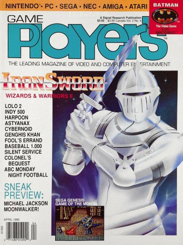 Game Player's Issue 010 April 1990 (Vol. 2 No. 4)