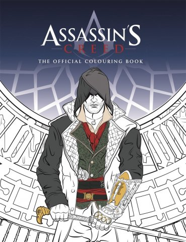 Assassin's Creed - The Official Colouring Book