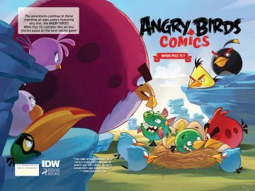 Angry Birds Comics Vol.1