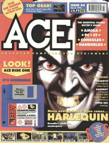 ACE 54 (March 1992)