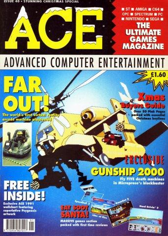 ACE 40 (January 1991 / Xmas 1990)