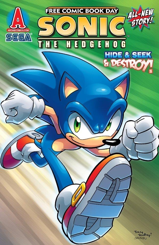 Sonic the Hedgehog FCBD 2010