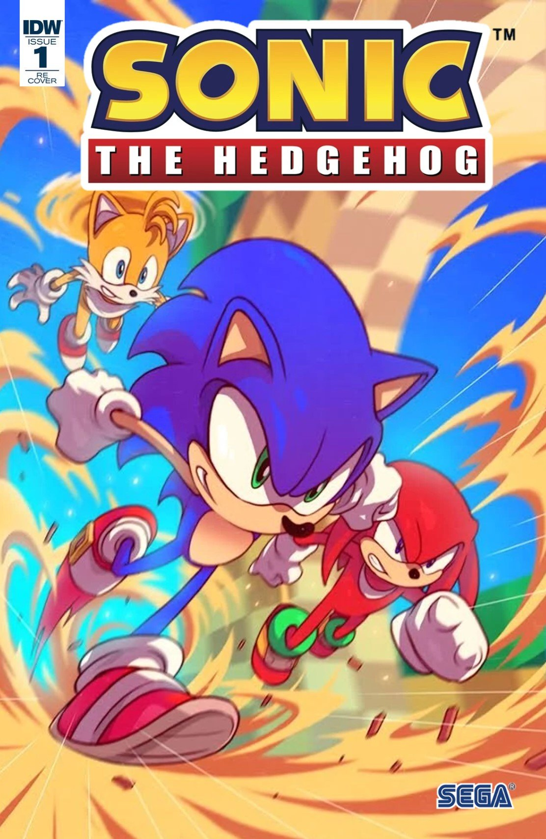 Sonic the Hedgehog 001 (April 2018) (Convention exclusive Superstar)