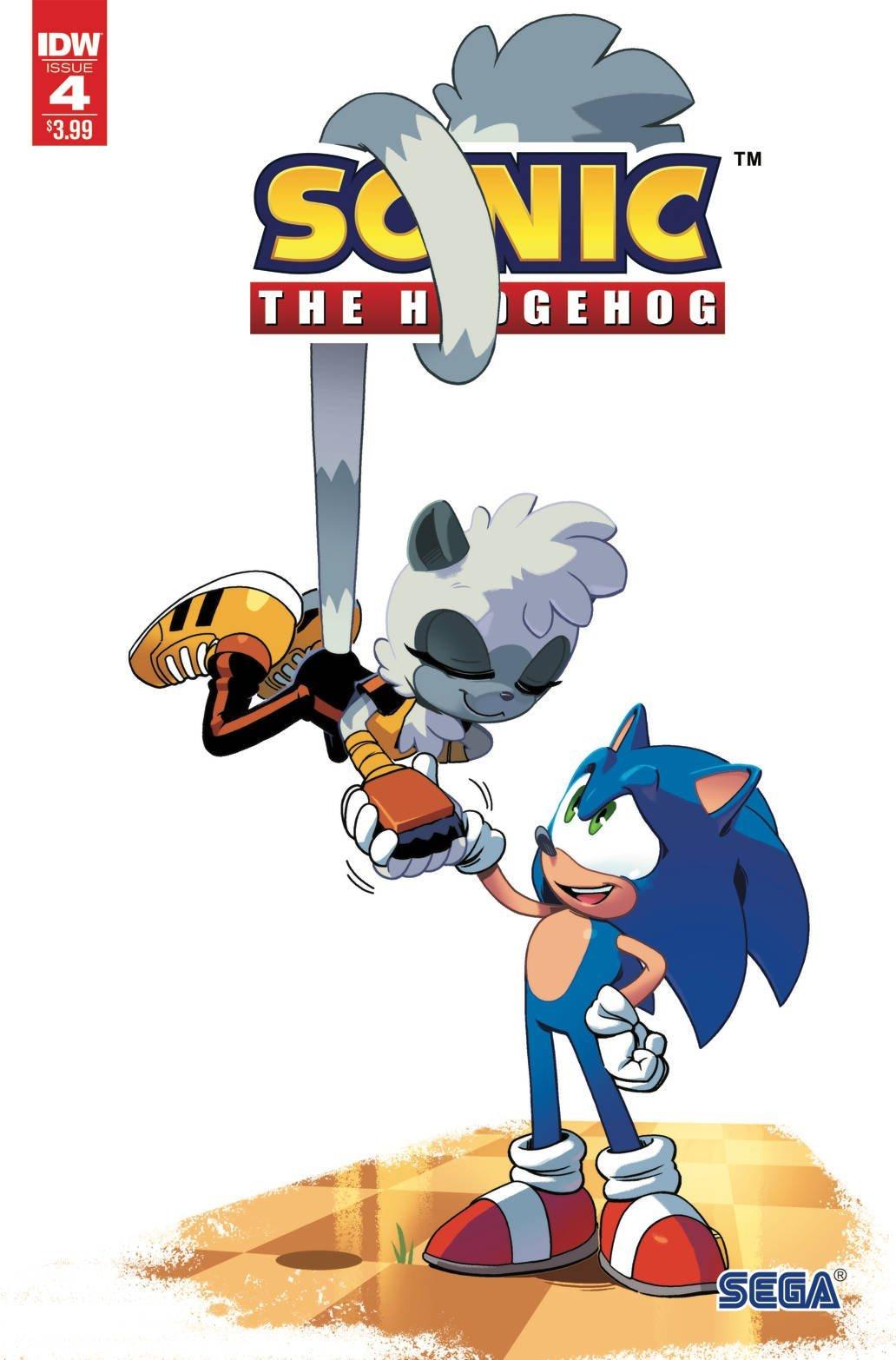 Sonic the Hedgehog 004 (April 2018) (2nd printing)