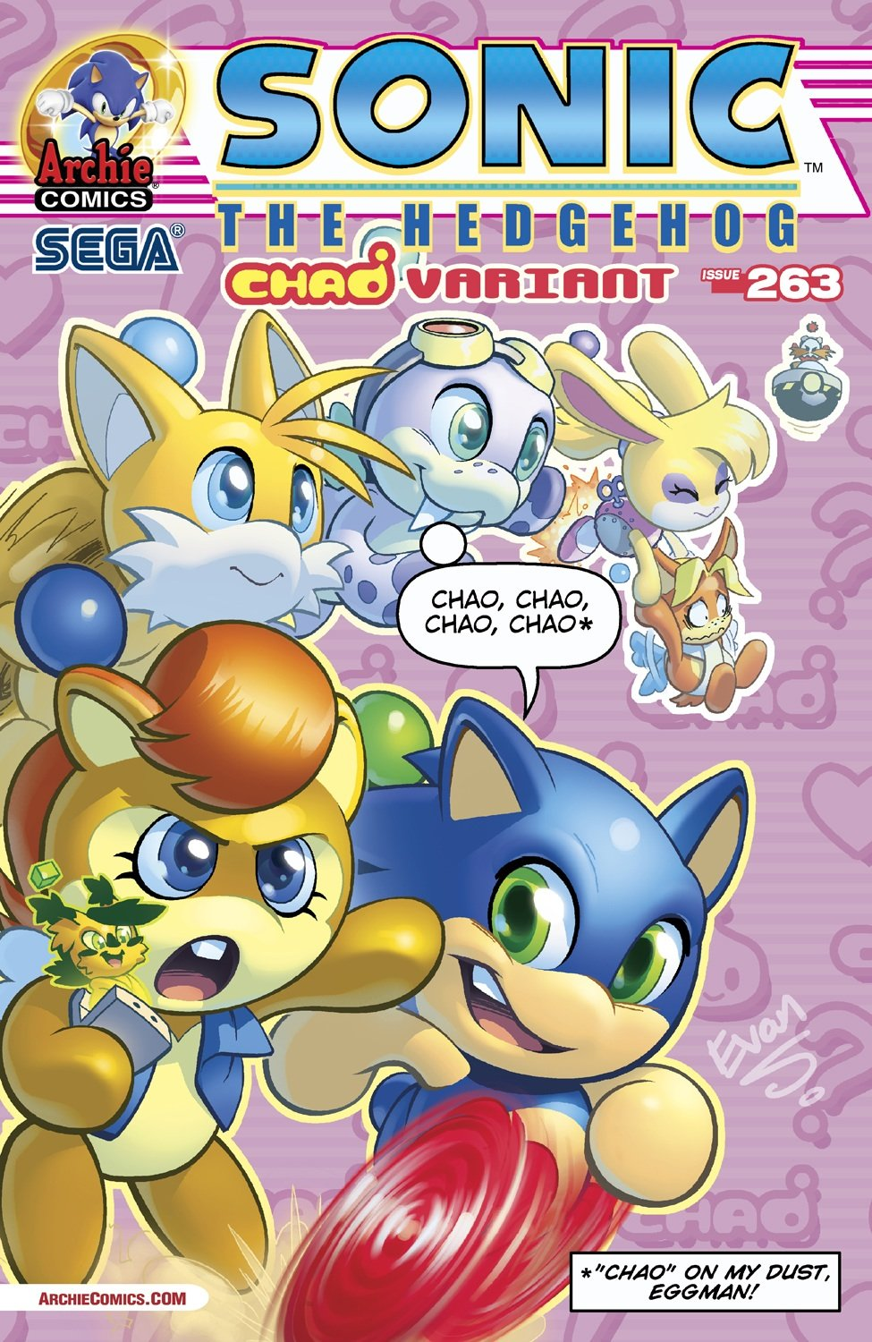 Sonic the Hedgehog 263 (October 2014) (variant edition)