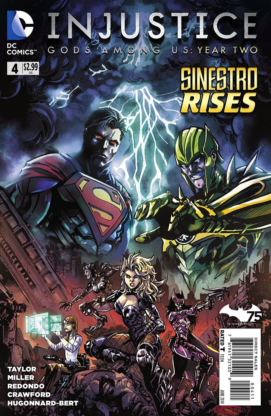 Injustice - Gods Among Us: Year Two 004 (June 2014)