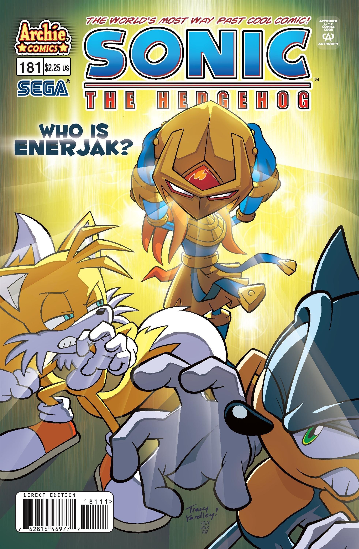 Sonic the Hedgehog 181 (December 2007)
