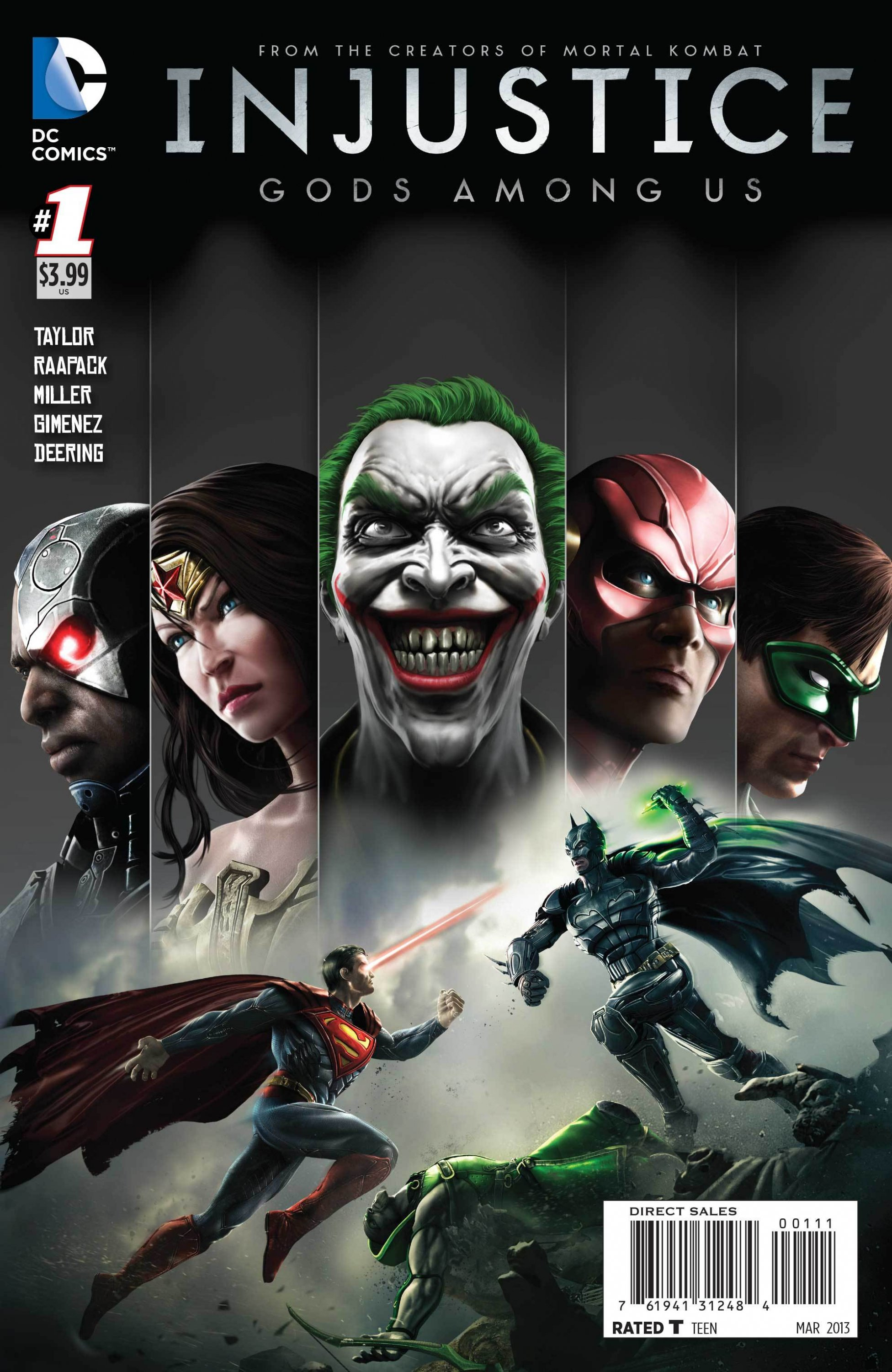 Injustice: Gods Among Us 001 (March 2013) (2nd print)