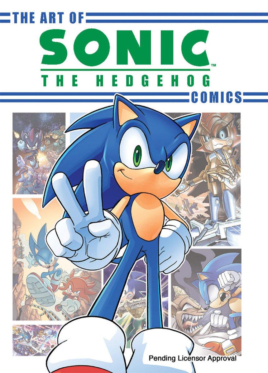The Art of Sonic the Hedgehog Comics (canceled)