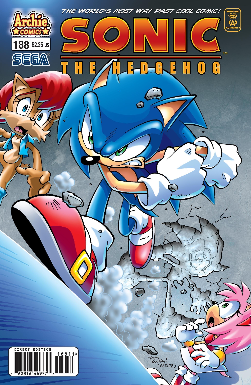 Sonic the Hedgehog 188 (July 2008)