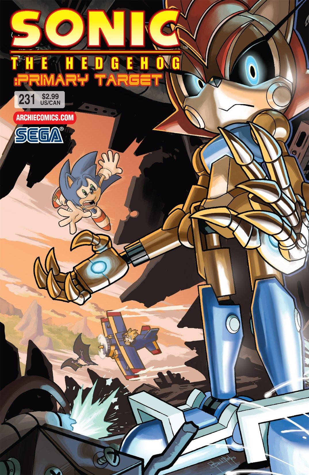 Sonic the Hedgehog 231 (January 2012)