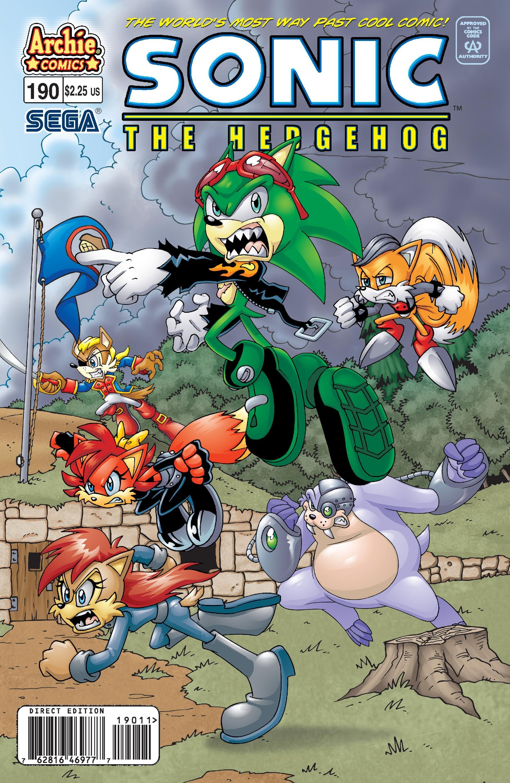 Sonic the Hedgehog 190 (September 2008)