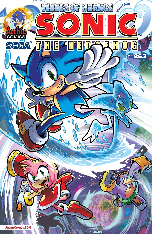 Sonic the Hedgehog 263 (October 2014)