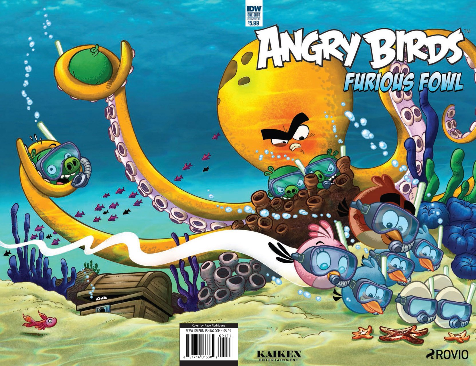 Angry Birds Comics Quarterly - Furious Fowl (August 2017) (cover b)