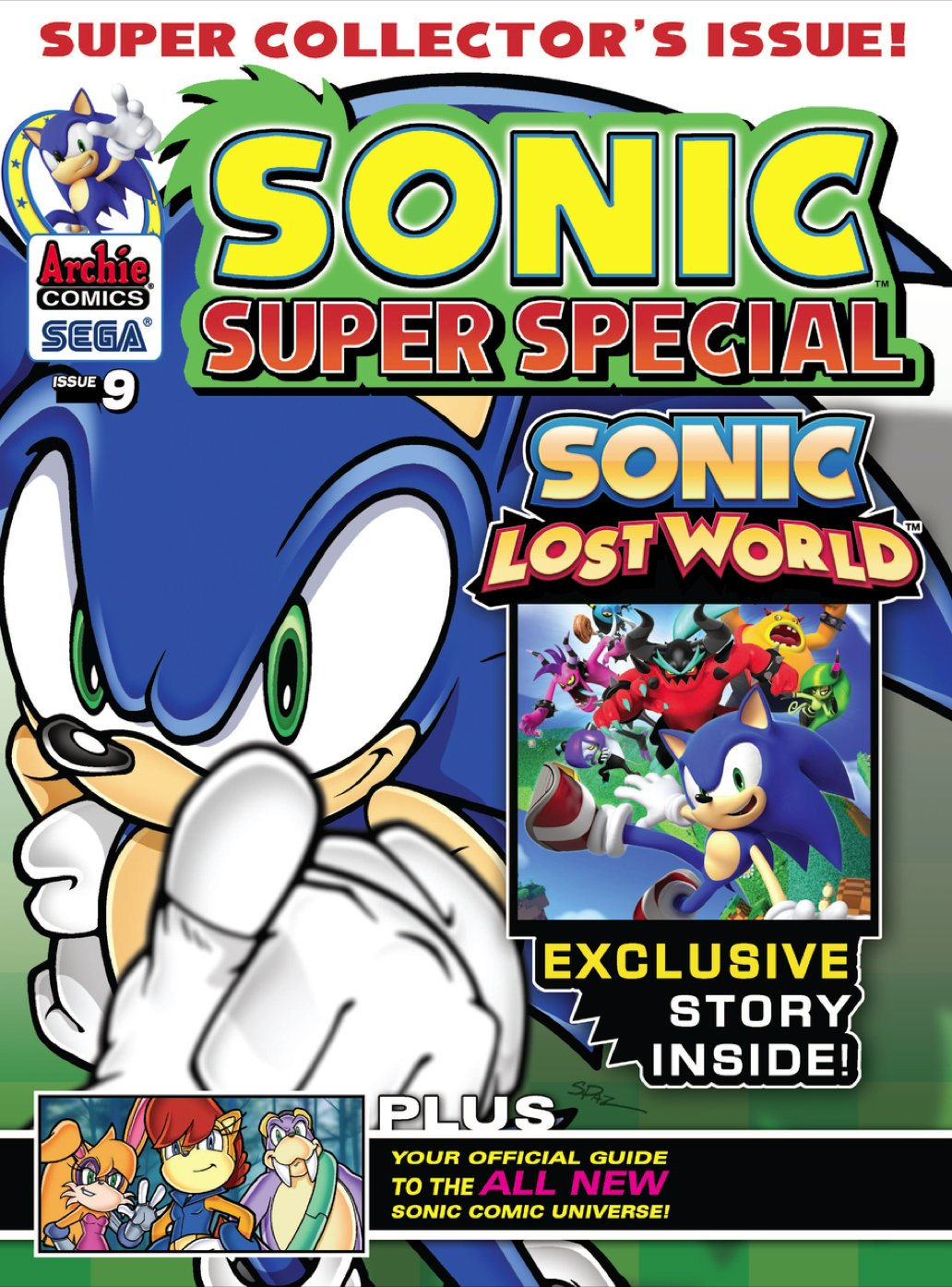 Sonic Super Special Magazine 09 (January 2014)