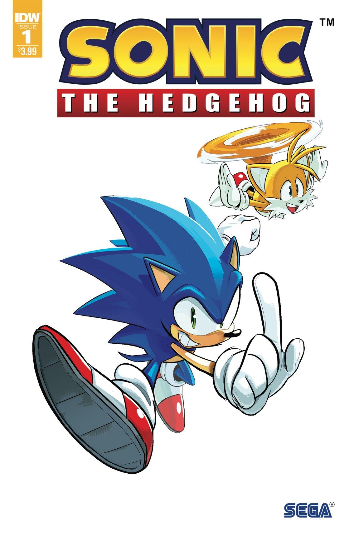 Sonic the Hedgehog 001 (April 2018) (3rd printing)