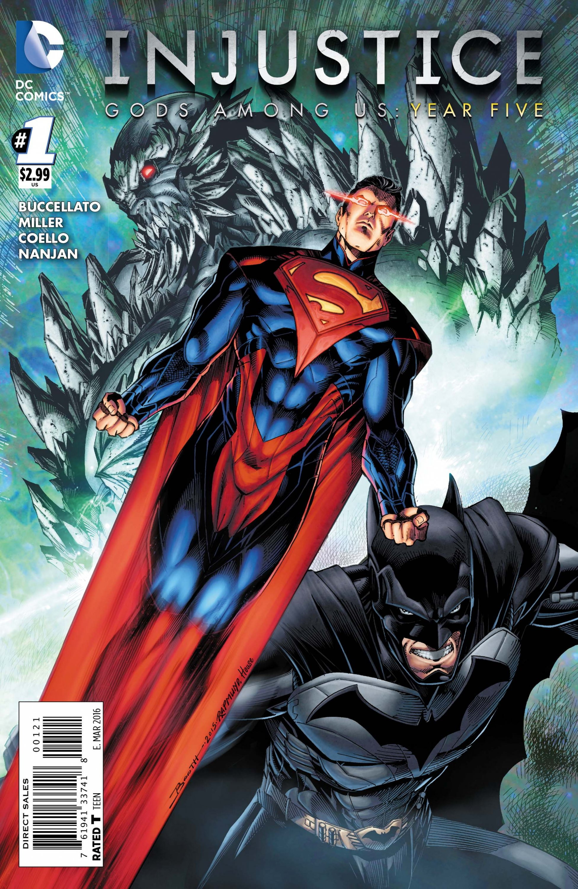 Injustice - Gods Among Us: Year Five 001 (March 2016) (variant)