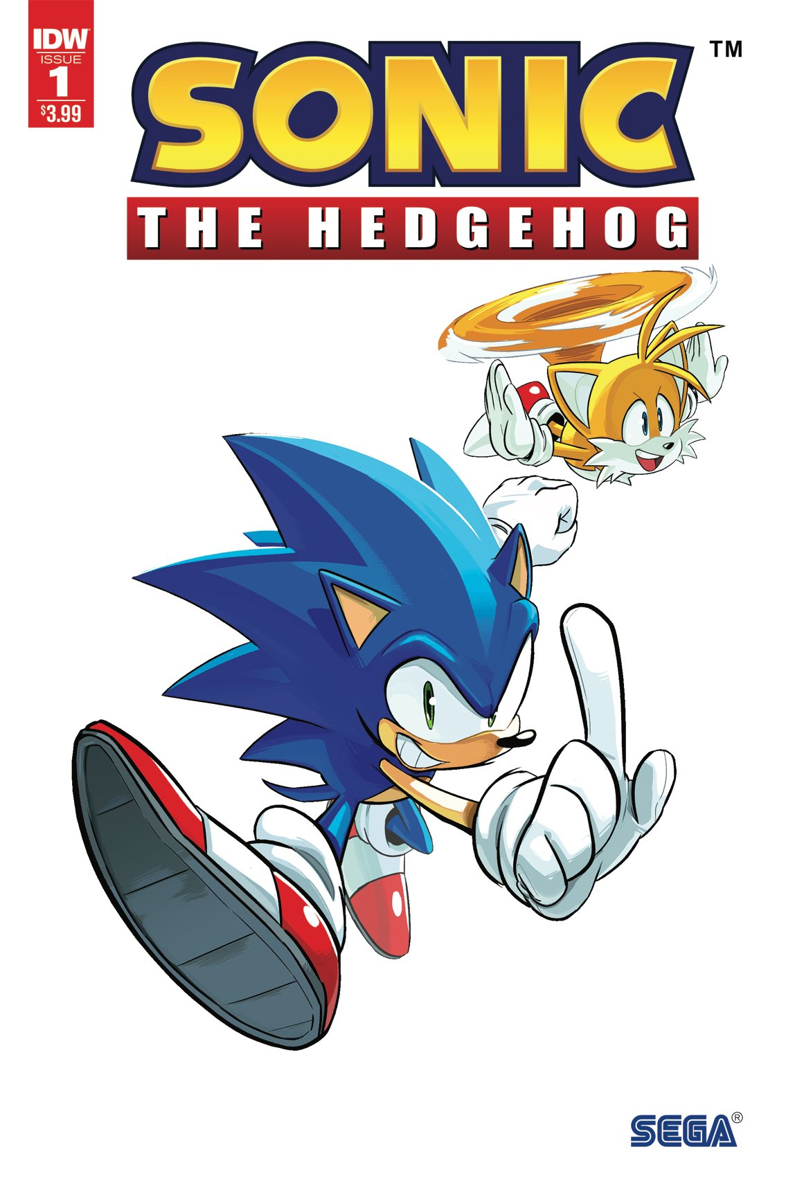 Sonic the Hedgehog 001 (April 2018) (2nd printing)