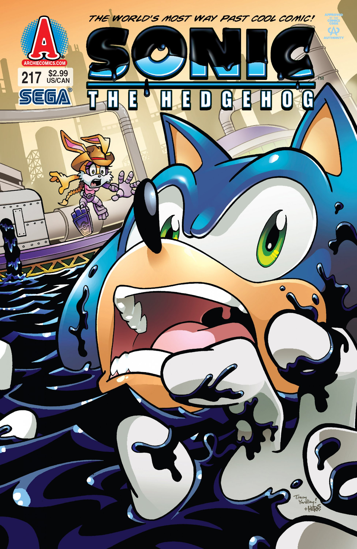 Sonic the Hedgehog 217 (November 2010)