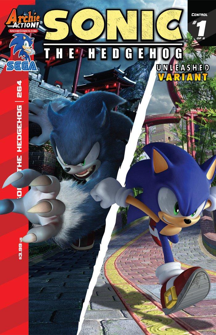 Sonic the Hedgehog 264 (November 2014) (variant edition)