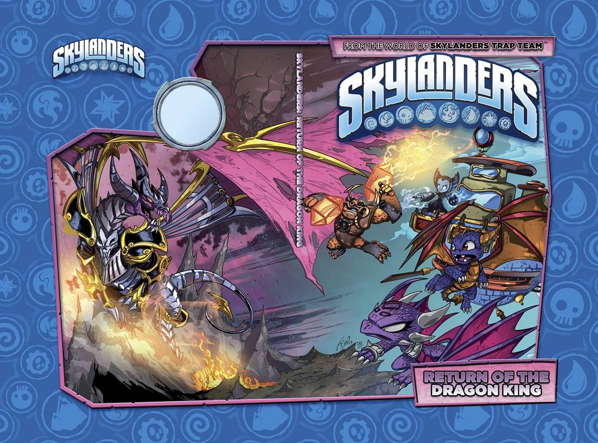 Skylanders - Return of the Dragon King HC (full)