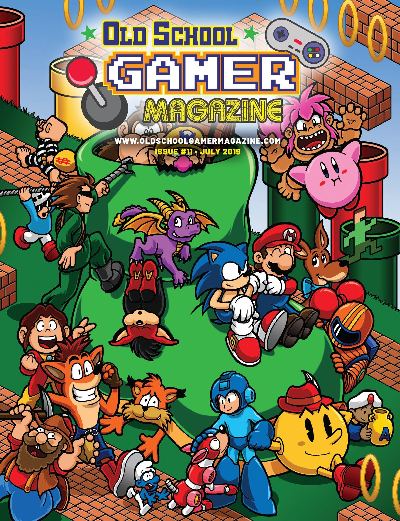 Old School Gamer Magazine Issue 11 July 2019