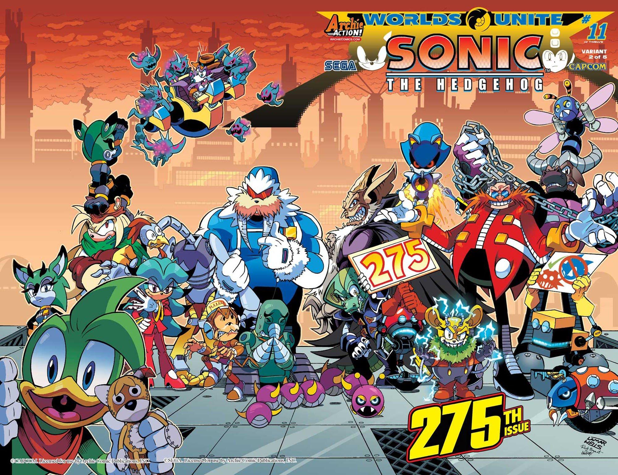 Sonic the Hedgehog 275 (October 2015) (variant 2)