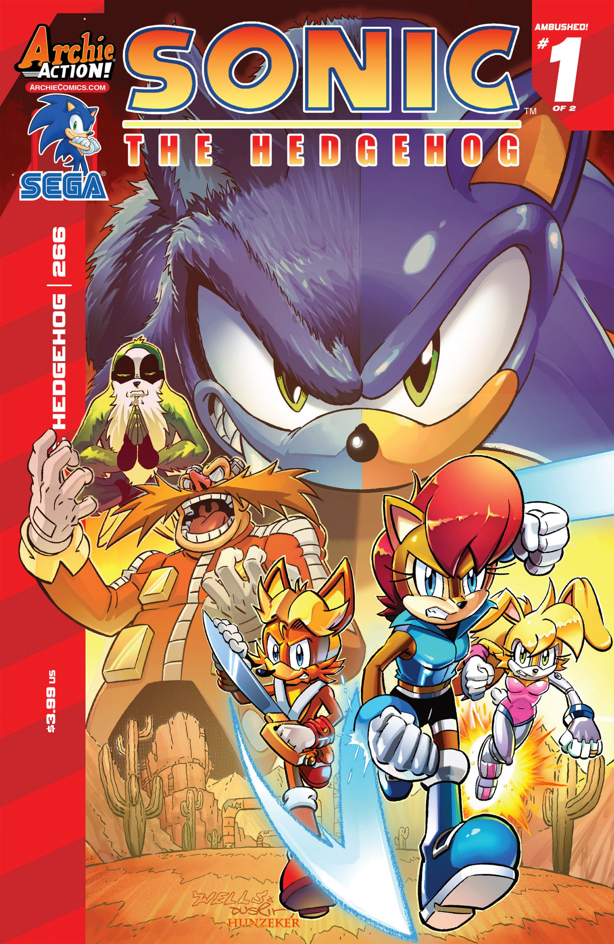 Sonic the Hedgehog 266 (January 2015)