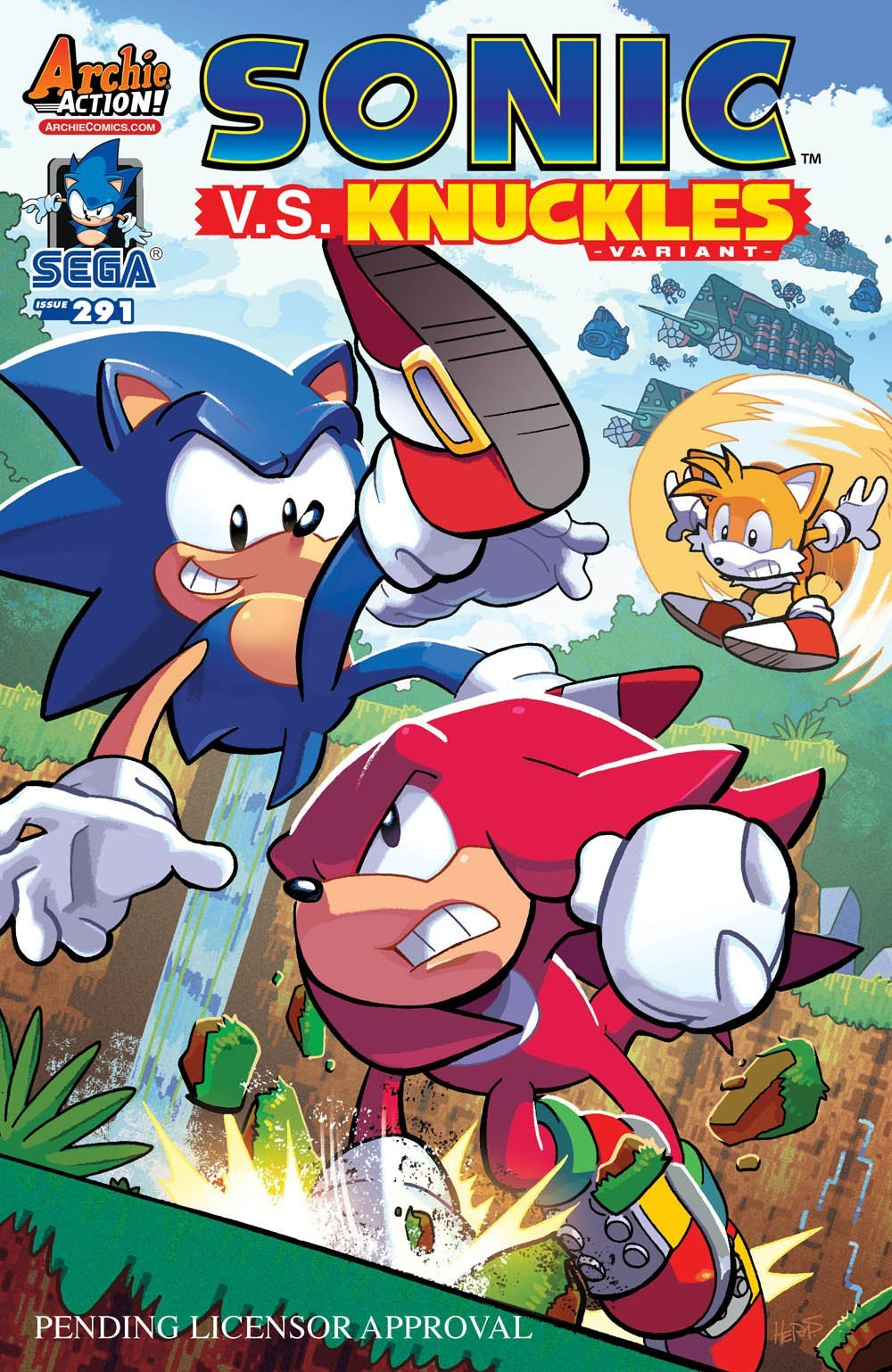 Sonic the Hedgehog 291 (variant edition) (canceled)