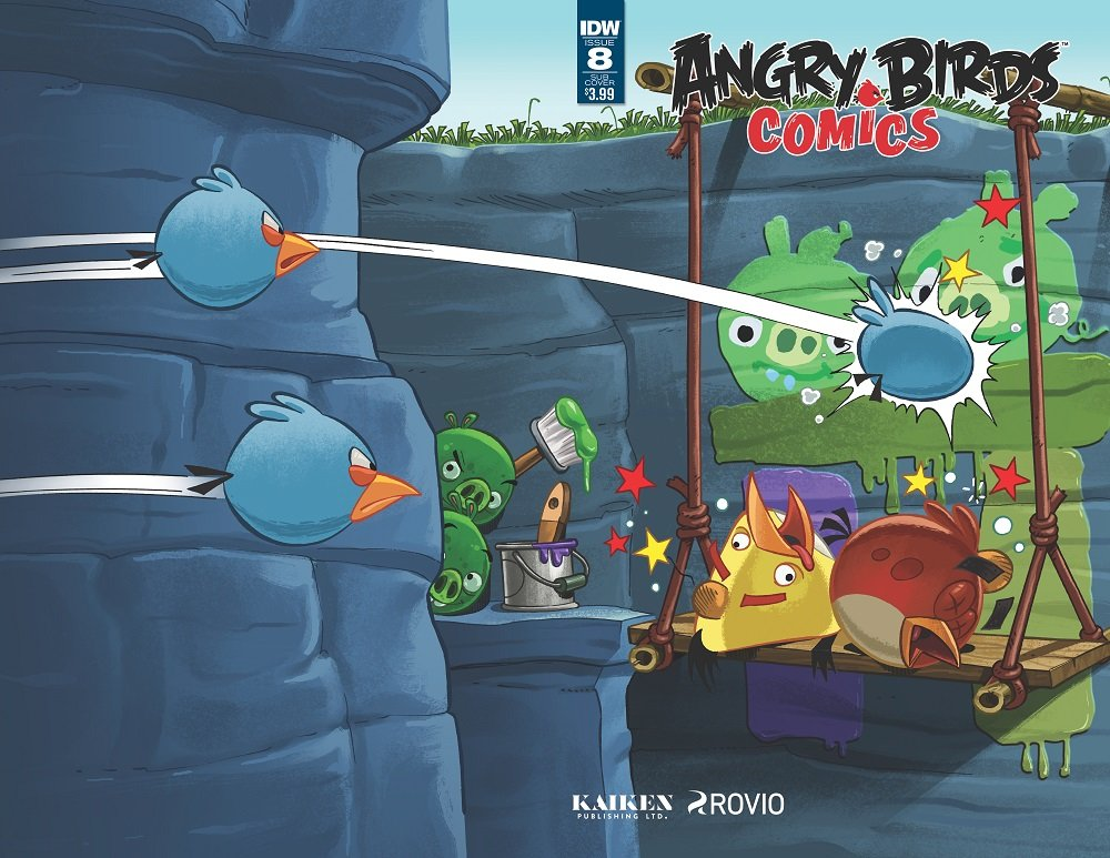 Angry Birds Comics Vol.2 008 (August 2016) (subscriber cover)