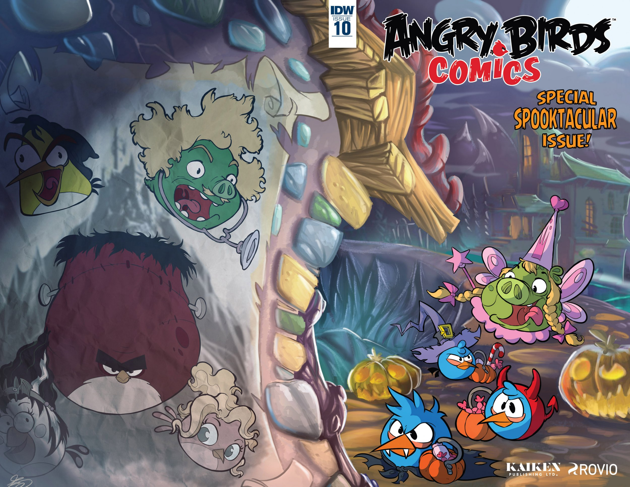 Angry Birds Comics Vol.2 010 (October 2016)