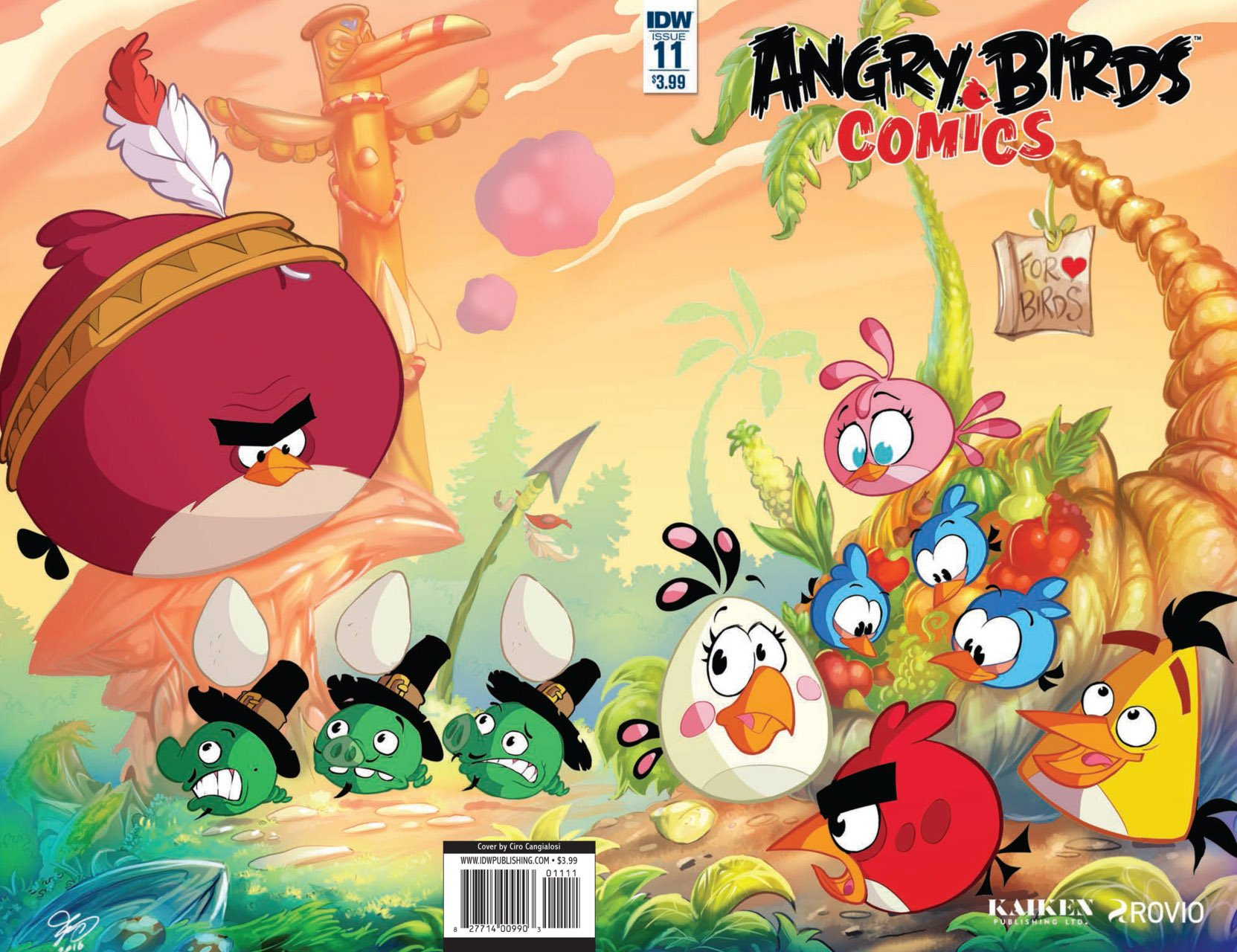 Angry Birds Comics Vol.2 011 (November 2016)