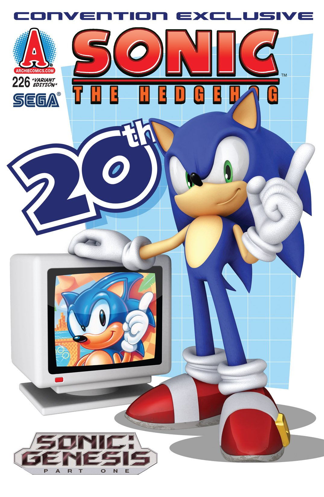 Sonic the Hedgehog 226 (August 2011) (variant edition)