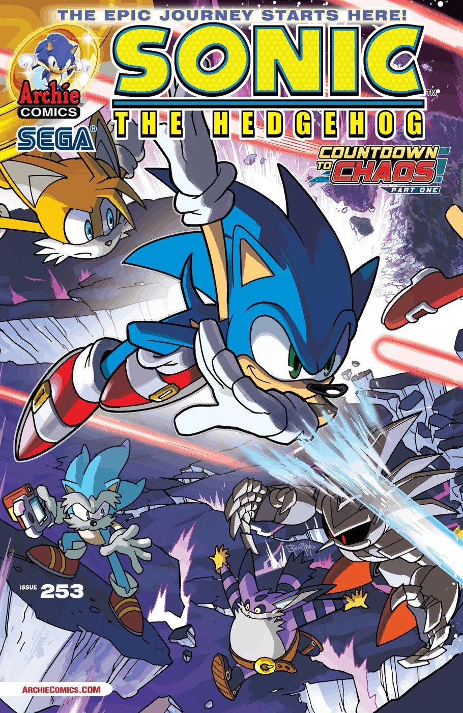 Sonic the Hedgehog 253 (November 2013)