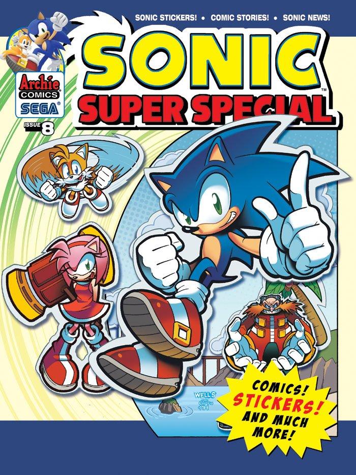 Sonic Super Special Magazine 08 (October 2013)