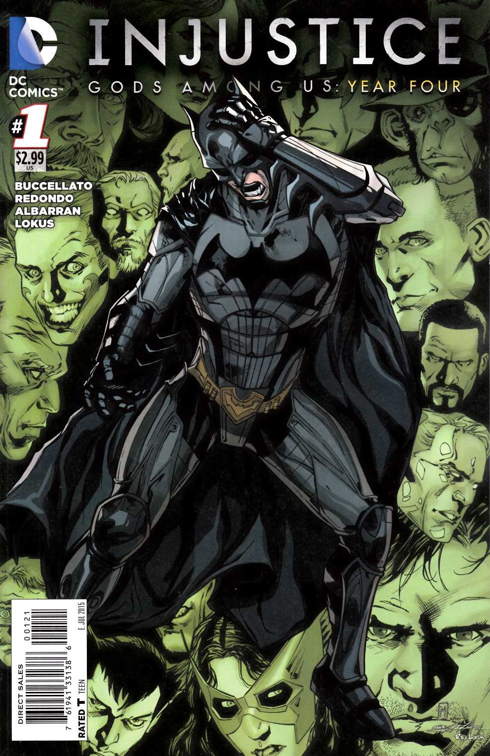 Injustice - Gods Among Us: Year Four 001 (July 2015) (variant)