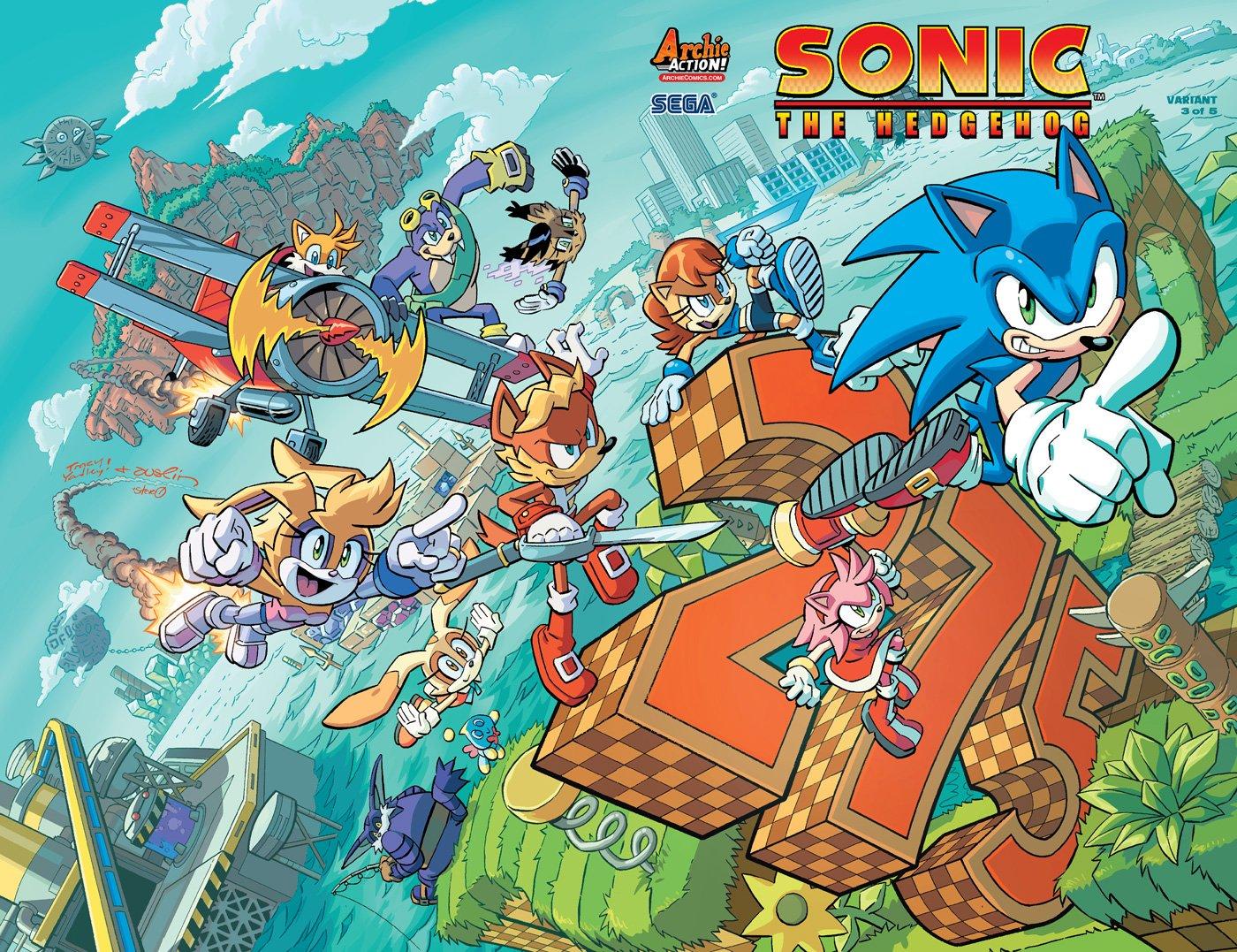 Sonic the Hedgehog 275 (October 2015) (variant 3)