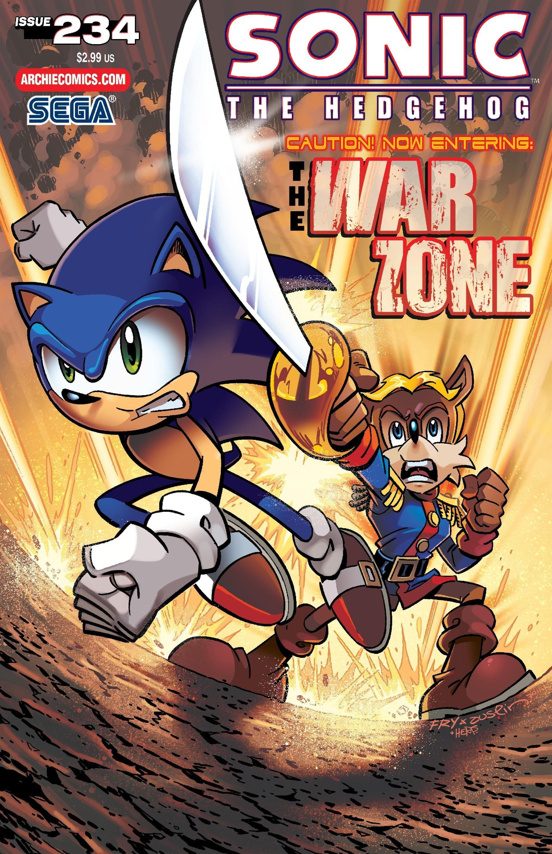 Sonic the Hedgehog 234 (April 2012)